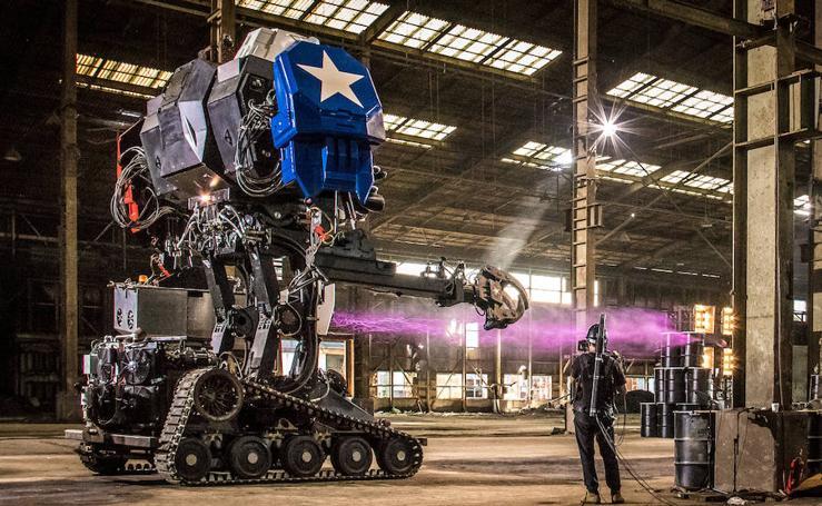 Combate «a muerte» entre robots