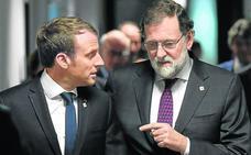 Merkel y Macron salen al rescate de Rajoy y lideran el firme apoyo de la UE