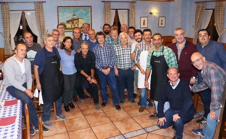 Inauguración de alto nivel en la Sociedad Gastronómica Kakiturri