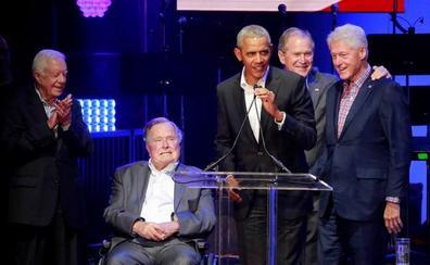 Expresidentes unidos por una buena causa