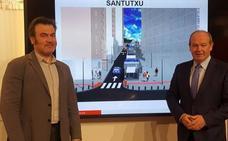 Comienzan las obras de los nuevos ascensores de Santutxu y Miribilla