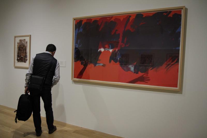 Exposición de grabados en el Bellas Artes