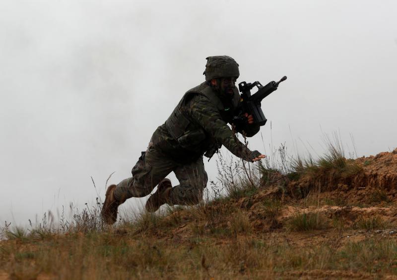 Presencia militar española en la Silver Arrow 2017
