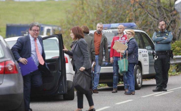 Un padre mata a su hijo en El Entrego (Asturias)