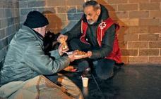 30 personas duermen en la calle en Vitoria y 279 están «en riesgo»