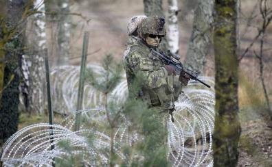 Letonia construirá una valla en su frontera con Bielorrusia