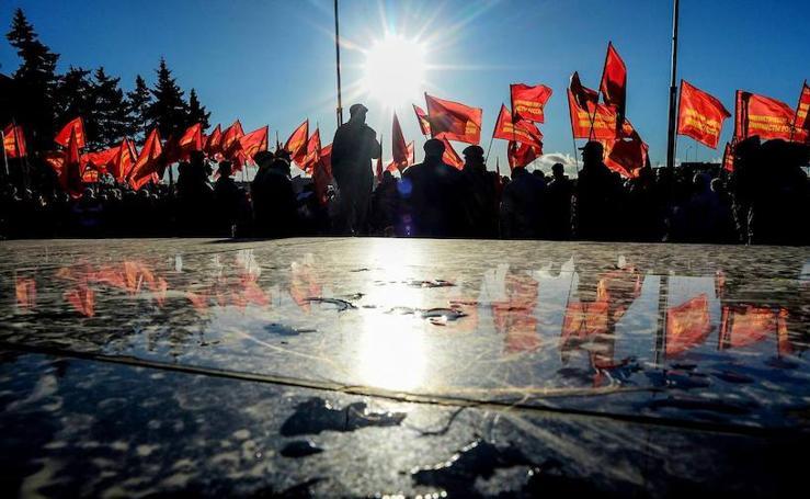 Rusia no se olvida de su revolución