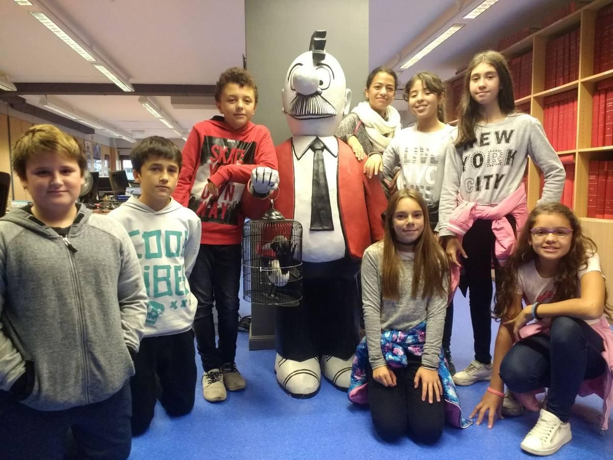 Visita colegio Aranbizkarra (Vitoria-Gasteiz) - 20 de octubre de 2017