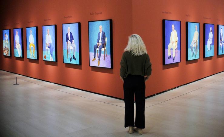 Exposición de David Hockney en el Guggenheim