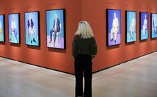 Los invitados de David Hockney llegan al Guggenheim