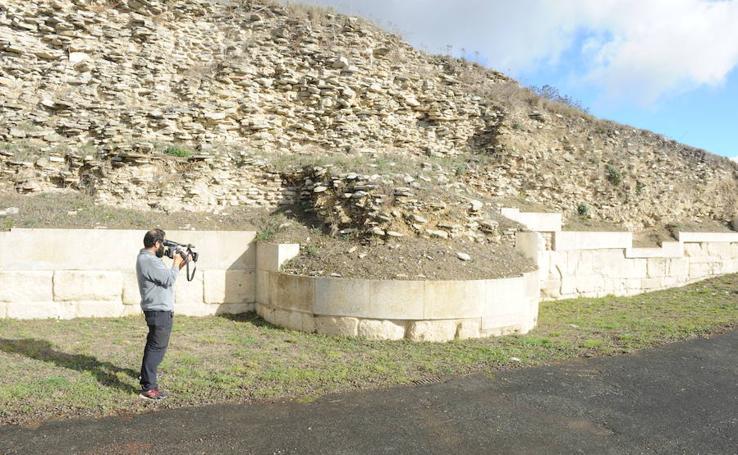 Fotos: La ciudad romana de Iruña-Veleia verá consolidada la muralla sur del yacimiento arqueológico