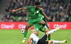 Argentina extraña a Messi y sufre un duro golpe ante Nigeria