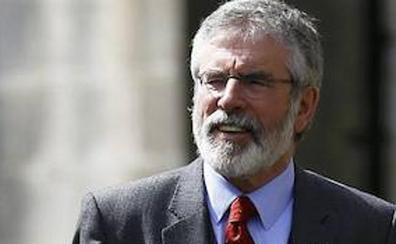 El largo adiós de Gerry Adams