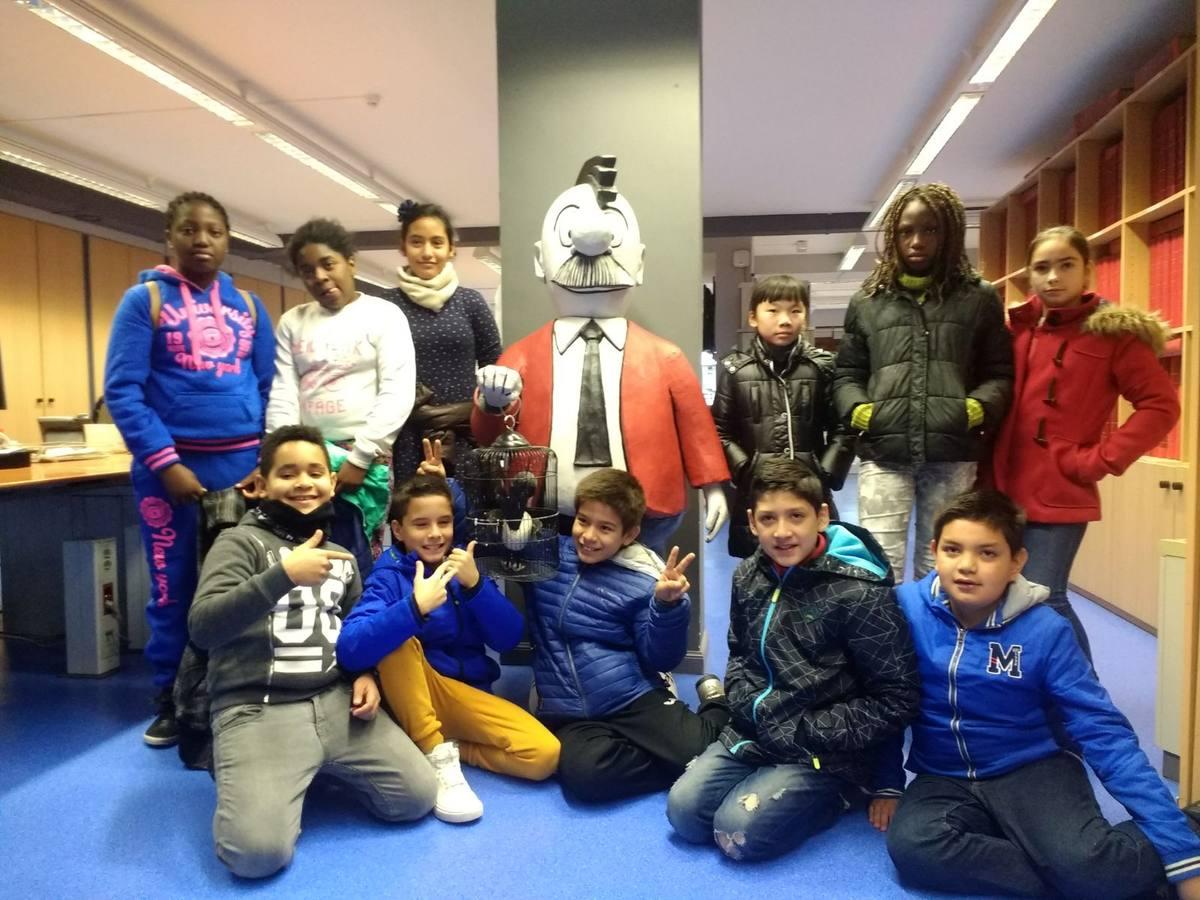 Visita centro escolar Santa María de Vitoria (Vitoria-Gasteiz) - 13 de noviembre de 2017