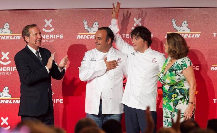Once restaurantes españoles cuentan con tres estrellas Michelin