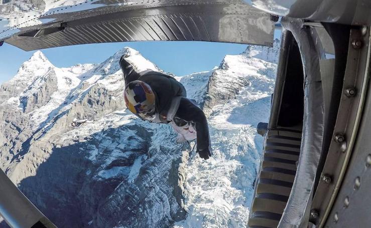 Un salto de más de 4.000 metros