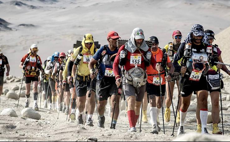 Maratón en el desierto