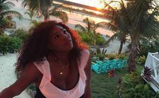Una isla privada para la luna de miel de Serena Williams