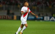El peruano Guerrero se queda sin Mundial por su positivo por cocaína