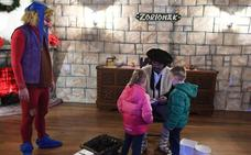 Olentzero se traslada a vivir a Basauri