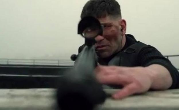 Imagen de la serie 'The Punisher' en Netflix./