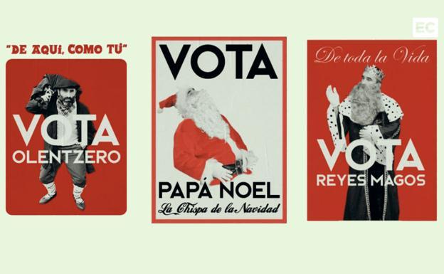 Fotos Papa Noel Reyes Magos.Somos De Olentzero Papa Noel O Los Reyes Magos Una Empresa