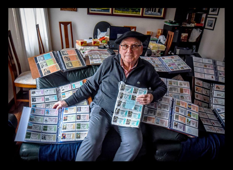 El coleccionista de billetes de lotería de Orduña