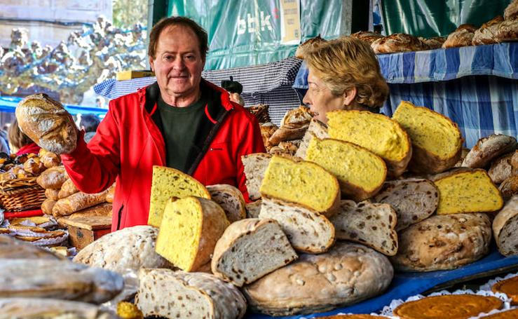 Las mejores imágenes de la feria del pan de Galdames