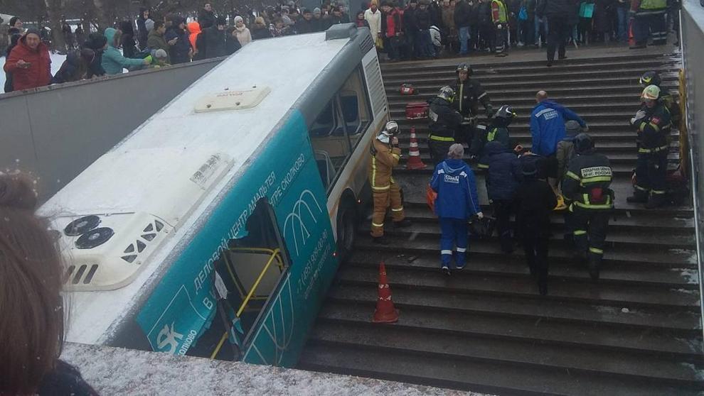 Atropello mortal en Moscú