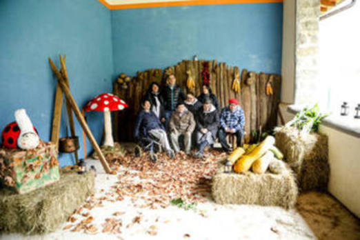 Gorabide pone color a la Navidad de Kortezubi