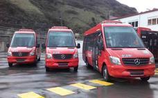 Tres nuevos microbuses refuerzan la flota de Bilbobus