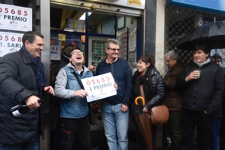 El primer premio de 'El Niño' cae en íntegro en Bilbao