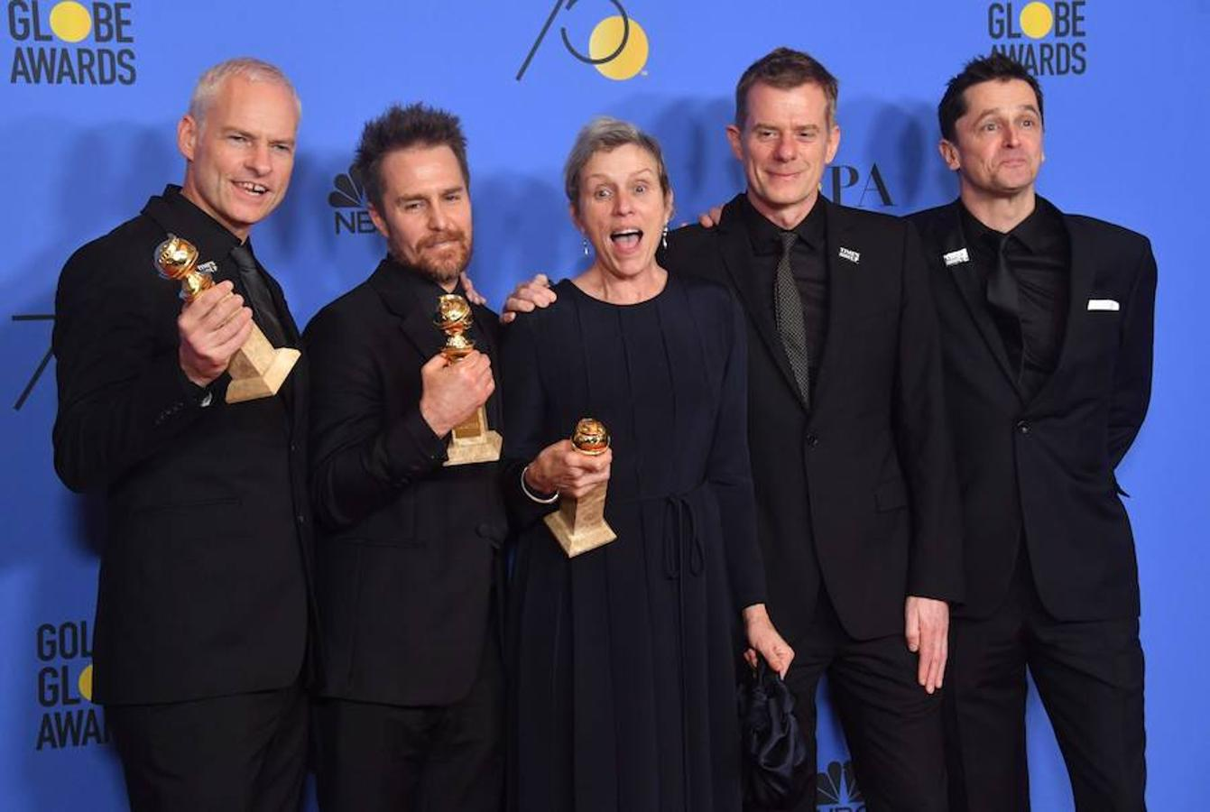 Los premiados de la 75 edición de los Globos de Oro, en imágenes