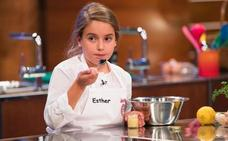 Esther, ganadora de 'MasterChef Junior 5' con un gazpacho «sobresaliente»