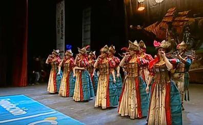 La emotiva comparsa de los carnavales de Cádiz dedicada a la víctima de 'la Manada'