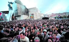 La cadena MTV quiere celebrar dos grandes conciertos en el corazón de Bilbao