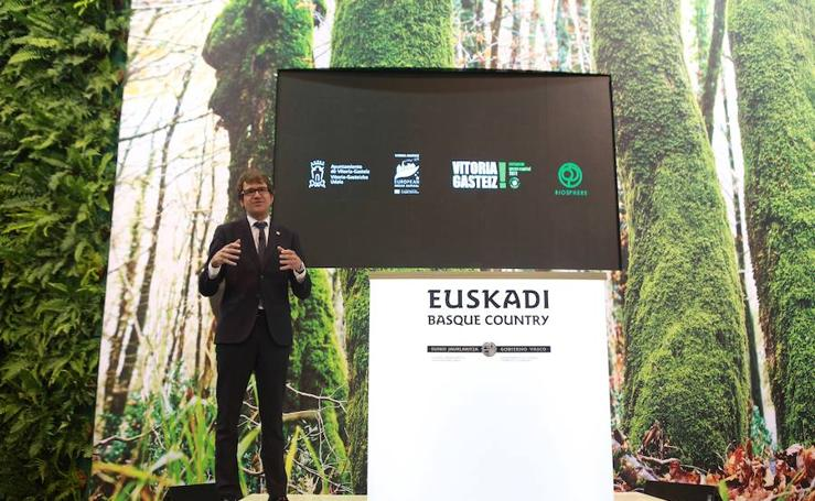 Vitoria se reivindica como mejor destino green en FITUR 2018