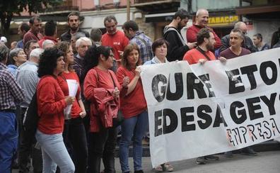 Basauri sale hoy a la calle para reclamar la continuidad de Edesa
