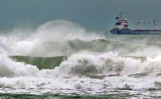 Olas de hasta ocho metros en el litoral vizcaíno
