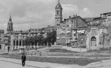 ¿Por qué fue derribado el convento de San Francisco?