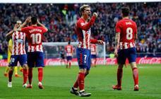 El Atlético vuelve a la senda de la victoria con contundencia
