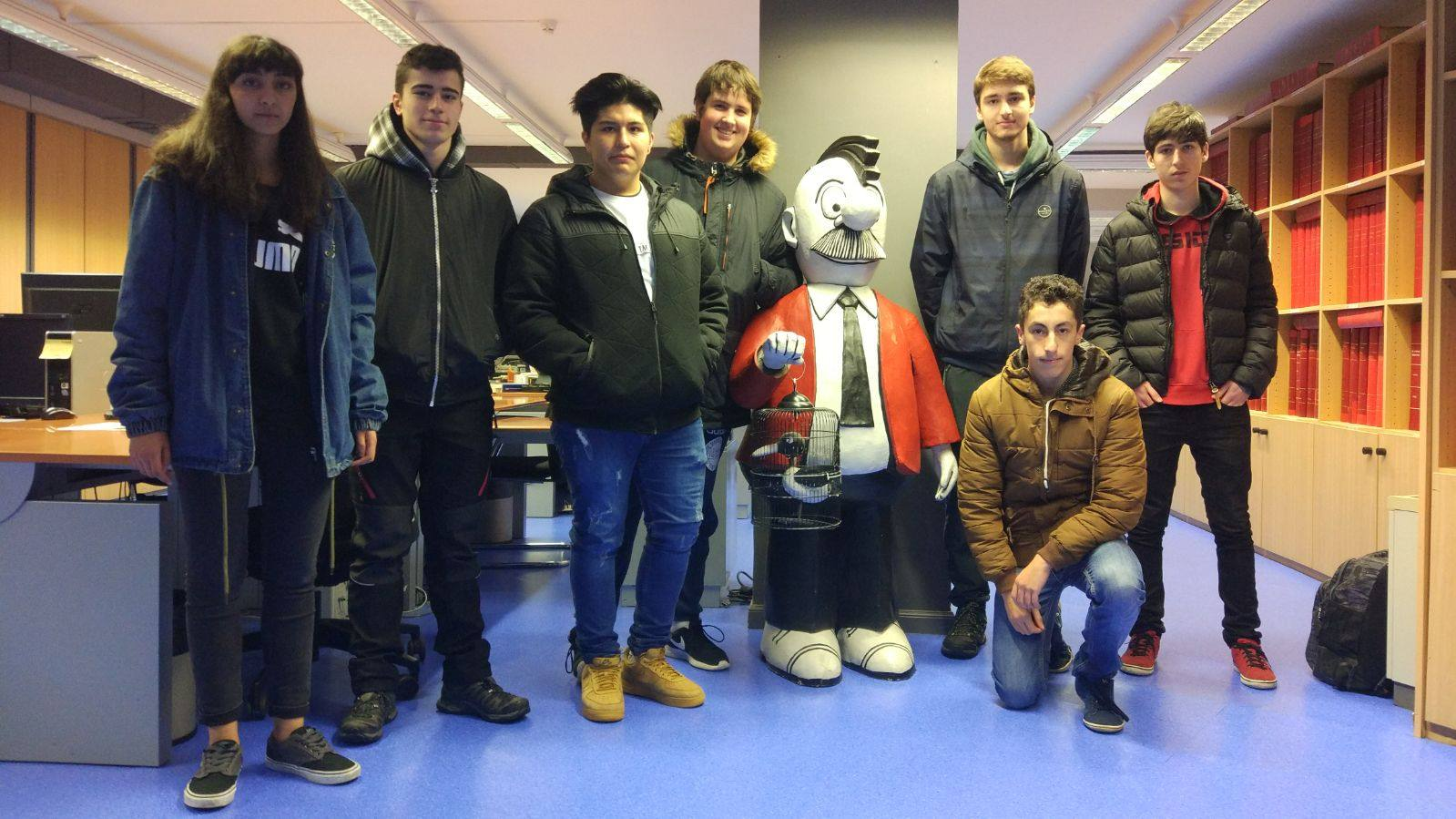 Visita centro escolar Jesús Obrero (Vitoria-Gasteiz) - 23 de enero de 2018