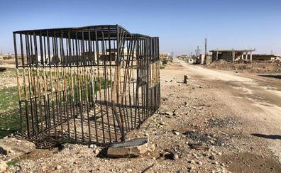 La jaula del Estado Islámico