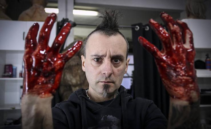 Gorka Agirre, un creador de pesadillas que sueña con el Goya