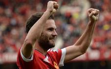 Juan Mata extiende su contrato con el United hasta 2019