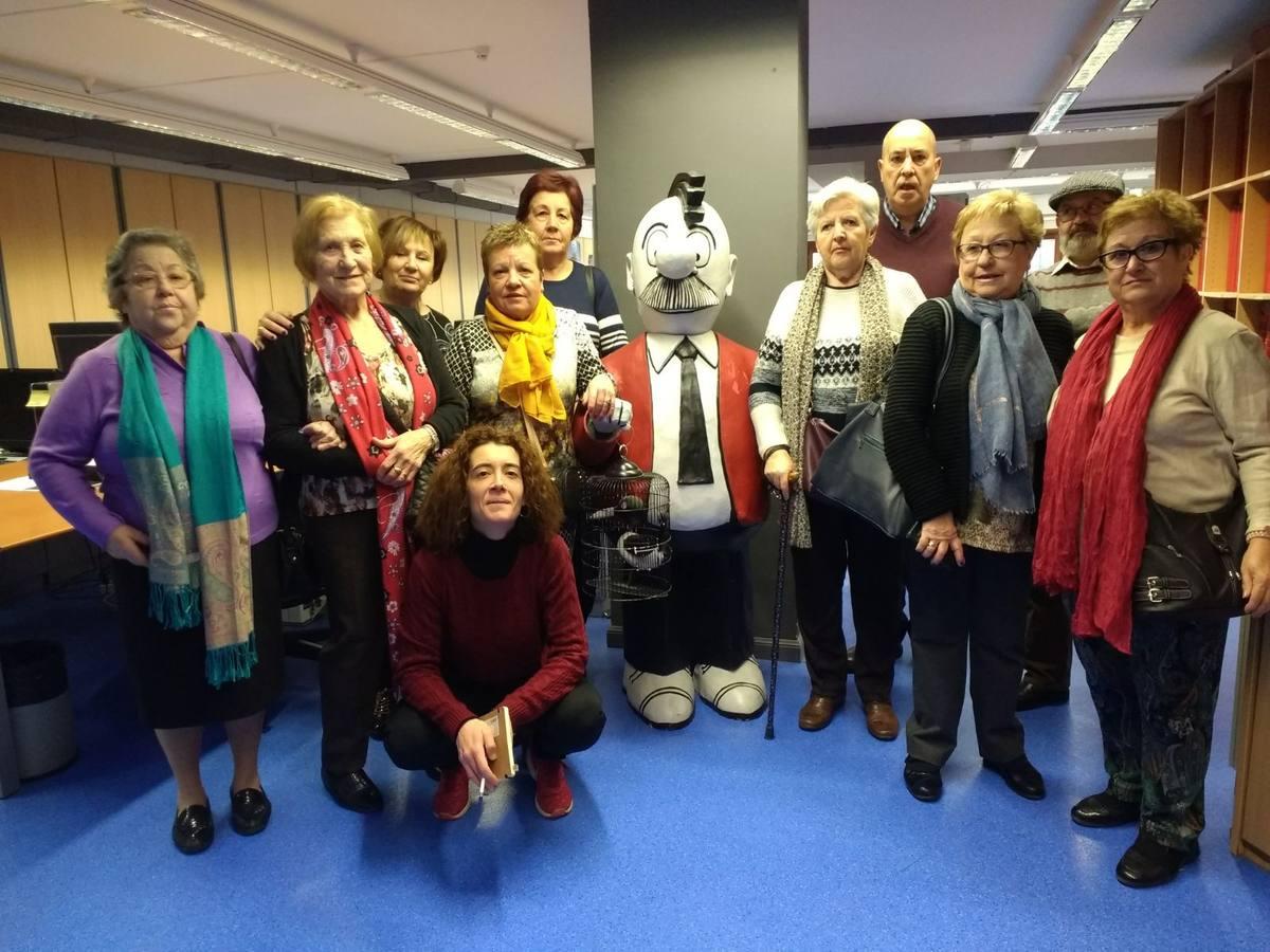 Visita Centro Social de Mayores Sansomendi (Vitoria-Gasteiz) - 31 de enero de 2018