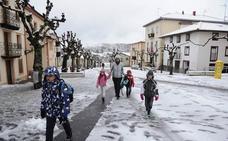 El Gobierno vasco mantiene la alerta por nieve y placas de hielo