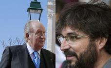 El rey Juan Carlos cuelga a Évole