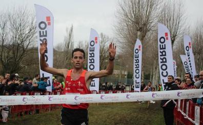 El vitoriano Iván Fernández, campeón de Euskadi de Cross