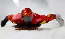 Ander Mirambell se jugará el viernes el pase al descenso final de Skeleton